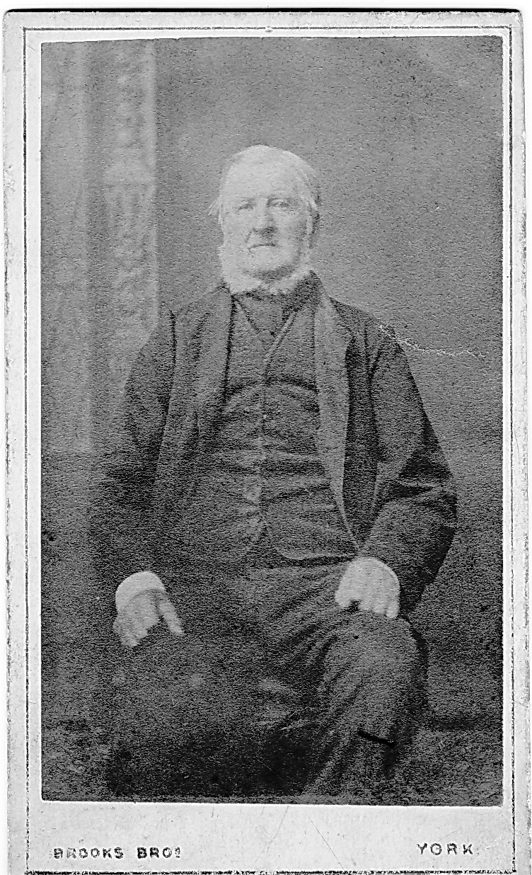 William Wormley who was born at Riccall in 1793 and died at Acomb York in 1879.